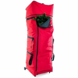 The Best Christmas Tree Bags Option: Santa's Bags XXL Rolling Duffle Bag Tree Storage