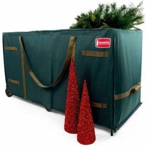 The Best Christmas Tree Bags Option: TreeKeeper Giant Rolling Tree Storage Bag