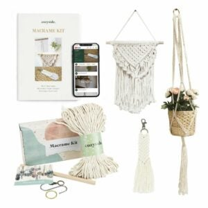 The Best Craft Kits for Adults Option: DIY Macrame Kit for Adults