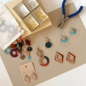 The Best Craft Kits for Adults Option: Eco-friendly DIY Earring Kit
