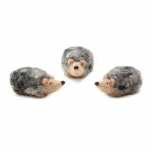 The Best Craft Kits for Adults Option: Hedgehog Needle Felting Kit
