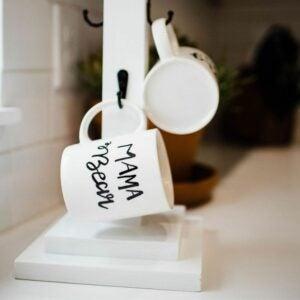 The Best Craft Kits for Adults Option: Mug Stand and Customizable Mugs Kit