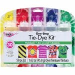 The Best Craft Kits for Adults Option: Tulip One-Step 5 Color Tie-Dye Kits