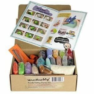 The Best Craft Kits for Adults Option: Woolbuddy Needle Felting Starter Kit