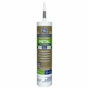 The Best Gutter Sealants Option: GE GE5050 Silicone II Aluminum and Metal Sealant