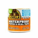 The Best Gutter Sealants Option: Gorilla Waterproof Patch and Seal Tape in White