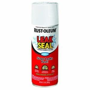 The Best Gutter Sealants Option: Rust-Oleum 267970 LeakSeal Flexible Rubber Coating
