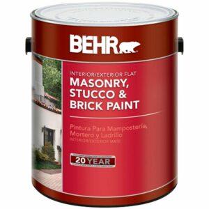 Best Paint for Brick Fireplaces Option: behr