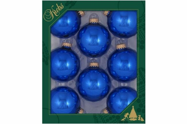 The Best Christmas Ornaments Option: Christmas By Krebs Seamless Glass Ball Ornaments