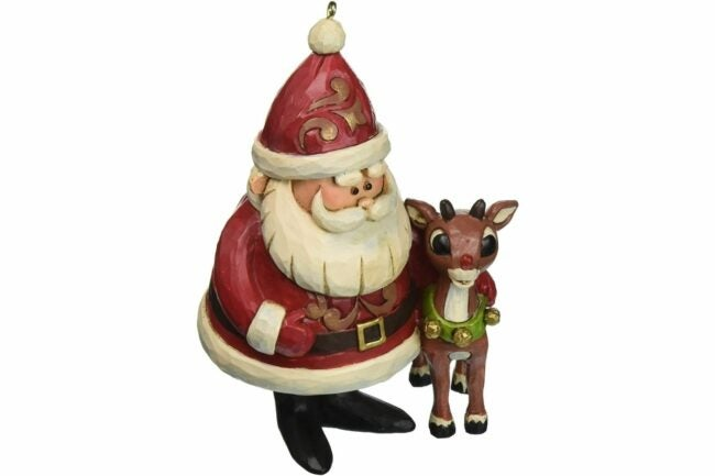 """The Best Christmas Ornaments Option: Jim Shore """"Rudolph the Red-Nosed Reindeer"""""""