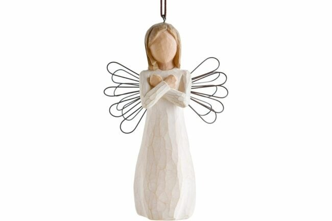 The Best Christmas Ornaments Option: Willow Tree Sign for Love Ornament