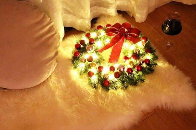 The Best Christmas Wreaths Option: Hanizi Christmas Wreath