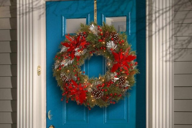 The Best Christmas Wreaths Option: National Tree Company Artificial Christmas Wreath