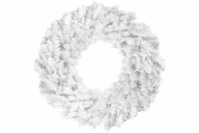 The Best Christmas Wreaths Option: Northlight Unlit White Pine Artificial Christmas Wreath