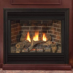 Best Gas Fireplace Inserts Options: Empire Tahoe Deluxe 91,4 cm NG Millivolt Kamin