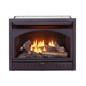 Best Gas Fireplace Inserts Options: ProCom 26-000 BTU Vent Free Dual Fuel Propane