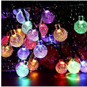 Best Outdoor Christmas Lights Options: UPOOM Solar String Lights