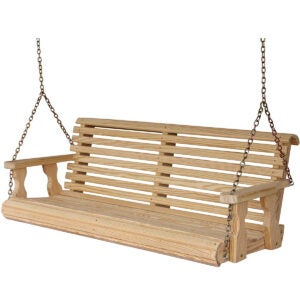 Best Porch Swings Option: CAF Amish Heavy Duty 800 Lb Roll Back Porch Swing