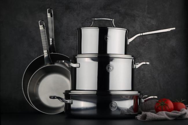 bv-deals-092721-20: SAVEUR SELECTS Voyage Series 8-Pc. Cookware Set