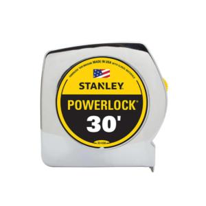 Cheap Tools Option: Stanley 30 ft- PowerLock Tape