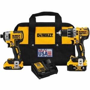The Dewalt Black Friday Deals Option: DEWALT Hammer Drill/Impact Combo Kit