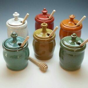 The Best Etsy Gifts Option: Honey Pot, Honey Jar