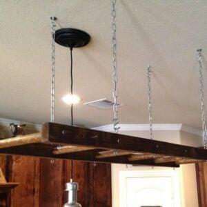 The Best Etsy Gifts Option: Bathroom Farmhouse Ladder Pot Rack