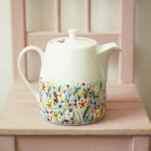 The Best Etsy Gifts Option: Ceramic Teapot - Hand Painted