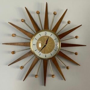 The Best Etsy Gifts Option: Majestic Starburst Clock by Royale Medium