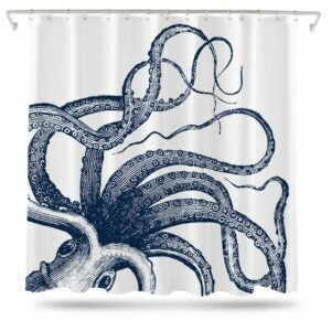 The Best Etsy Gifts Option: Octopus Shower Curtain