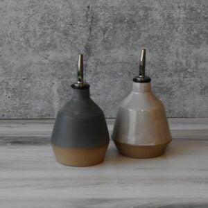 The Best Etsy Gifts Option: Olive Oil Bottle, Ceramic Oil Dispenser