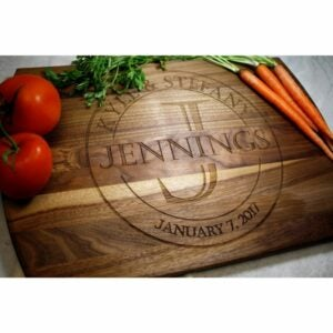 The Best Etsy Gifts Option: Personalized Cutting Board