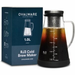 The Best Gifts for Coffee Lovers Option: Airtight Cold Brew Iced Coffee Maker