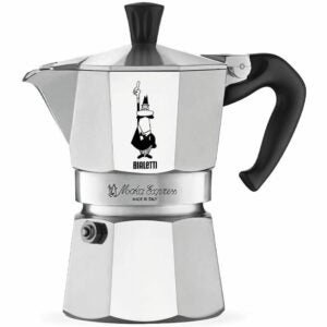 The Best Gifts for Coffee Lovers Option: Bialetti Express Moka Pot