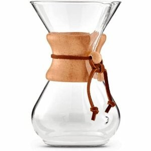 The Best Gifts for Coffee Lovers Option: Chemex Pour-Over Glass Coffeemaker