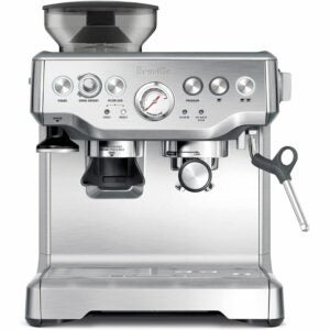 The Best Gifts for Coffee Lovers Option: Breville Barista Express Espresso Machine