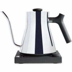 The Best Gifts for Coffee Lovers Option: Fellow Stagg EKG Electric Gooseneck Kettle