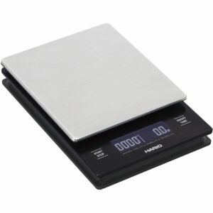 The Best Gifts for Coffee Lovers Option: Hario V60 Drip Coffee Scale and Timer