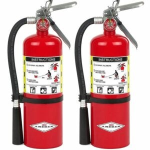The Best Gifts for New Homeowners Option: Amerex B500 Dry ABC Chemical Class Fire Extinguisher