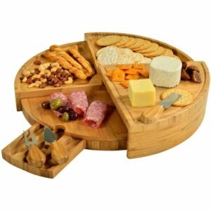 The Best Gifts for New Homeowners Option: Picnic at Ascot Bamboo Cheese/Charcuterie Board