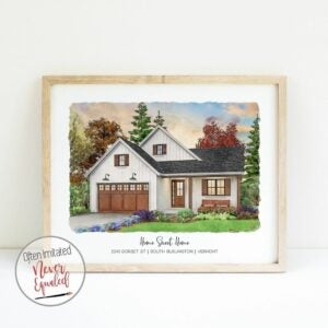 The Best Gifts for New Homeowners Option: Custom Map Serving Tray