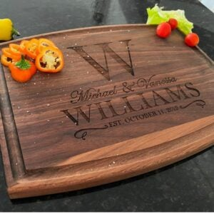 The Best Gifts for New Homeowners Option: Custom Cutting Board