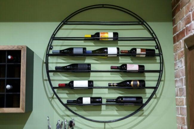 wine rack ideas wall rack