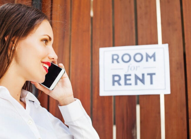 renting out room