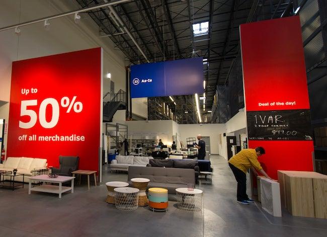 IKEA furniture buyback program