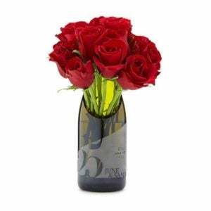 The Best Personalized Gifts Option: Personalized Champagne Milestone Vase