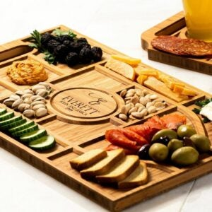 The Best Personalized Gifts Option: Personalized Charcuterie Planks and Beer Flights