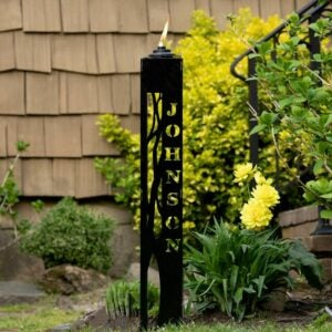 The Best Personalized Gifts Option: Personalized Citronella Lantern