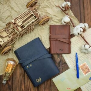 The Best Personalized Gifts Option: Personalized Leather Journal