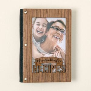 The Best Personalized Gifts Option: Personalized Recipe Card Book